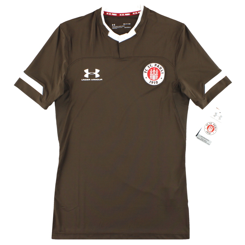 2019-20 St Pauli Under Armour Player Issue Home Shirt *w/tags* - 1330015