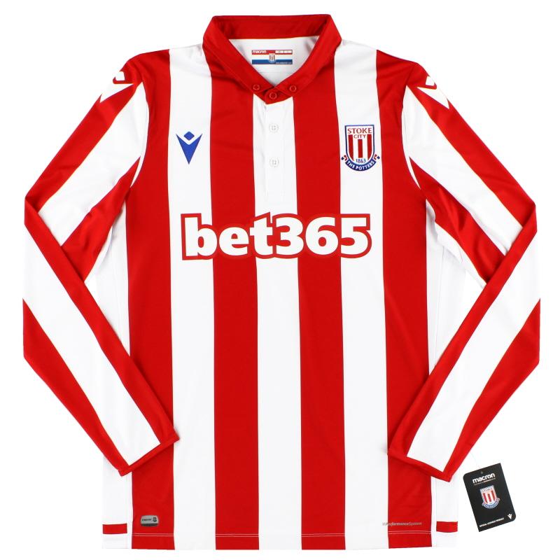 2019-20 Stoke City Home Shirt L/S *BNIB*