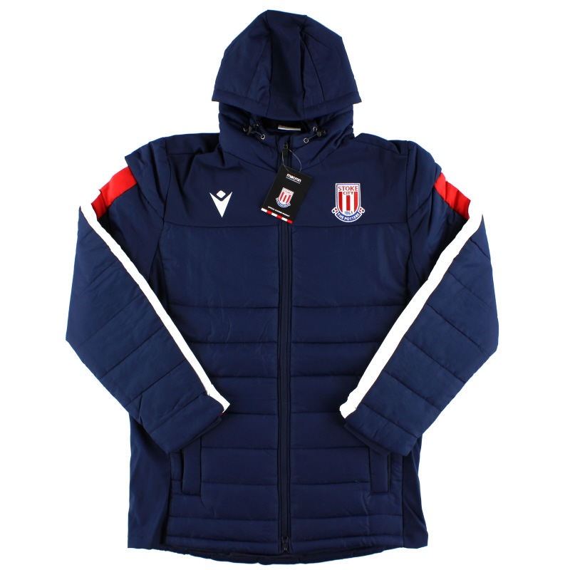 2019-20 Stoke City Macron Stadium Jacket *BNIB* S - 58014919