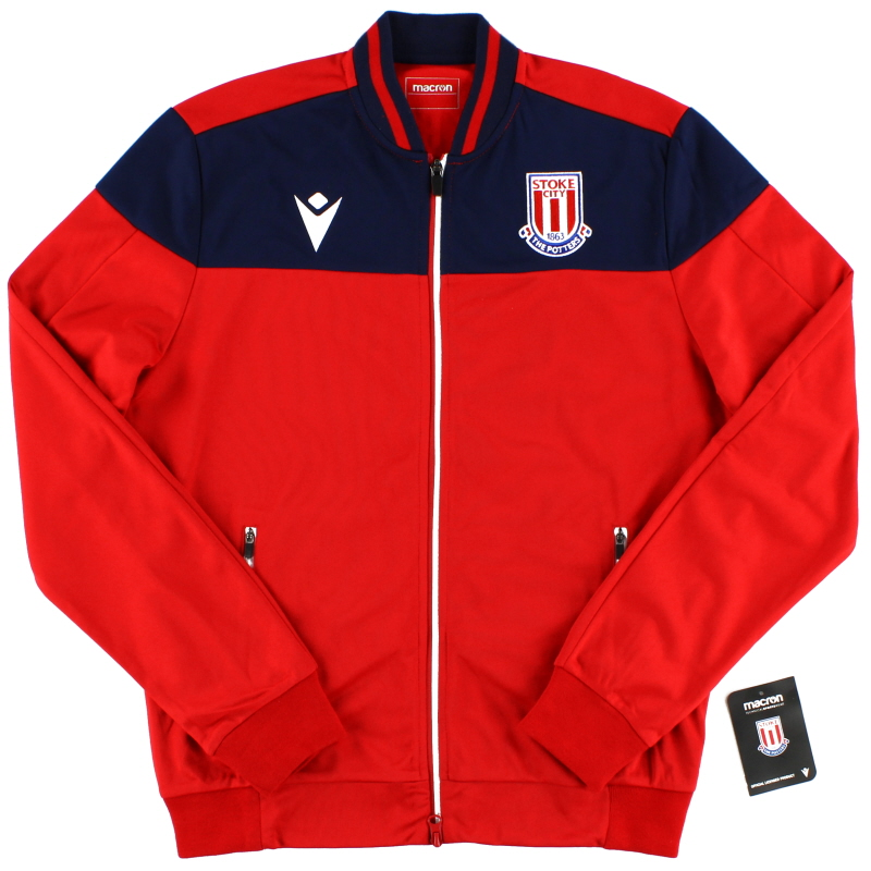 2019-20 Stoke City Macron Walkout Jacket *BNIB*