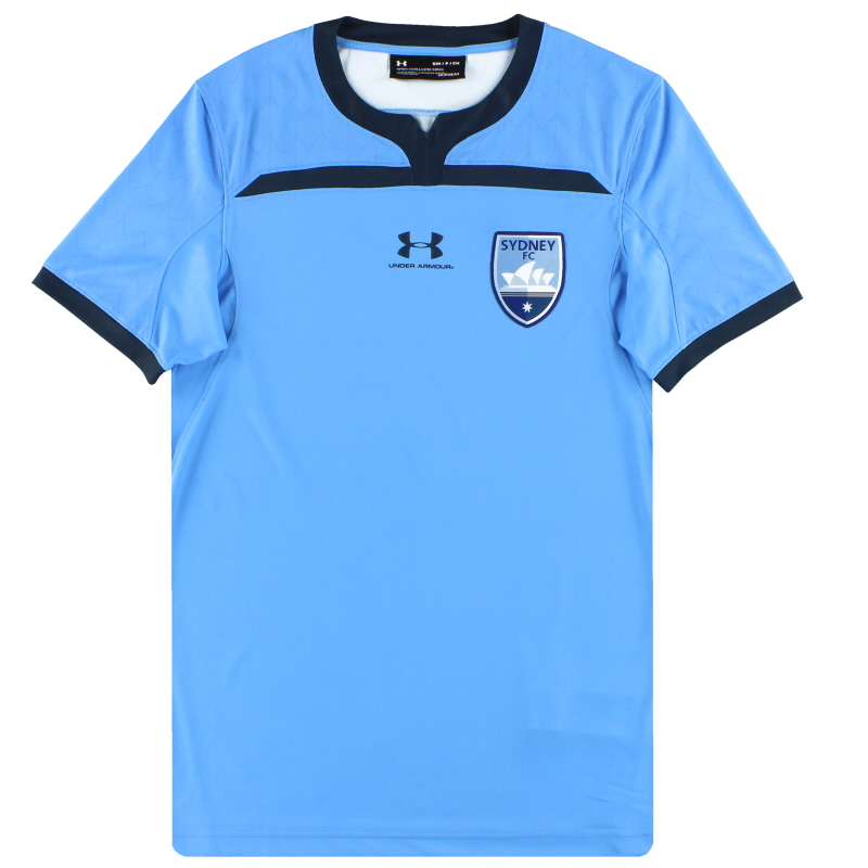 2019-20 Sydney FC Under Armour Player Issue Home Shirt *w/tags* L - SYJR117