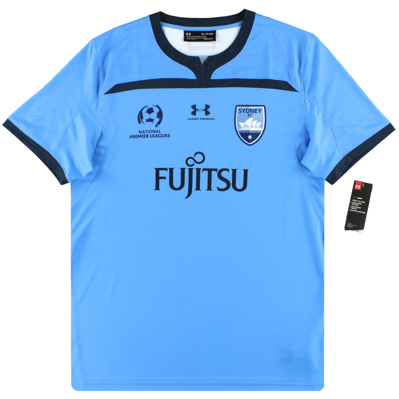 2019-20 Sydney FC Under Armour Player Issue Home Shirt *w/tags* XL  - SYJR111