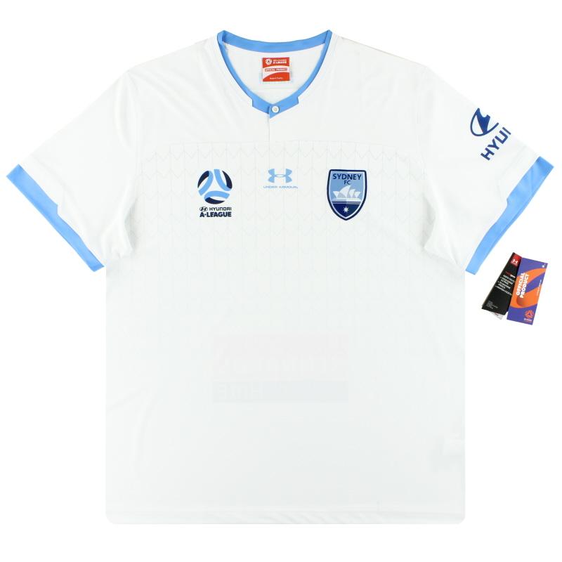 2019-20 Sydney FC Under Armour Away Shirt *w/tags* XXXL - SYJR103