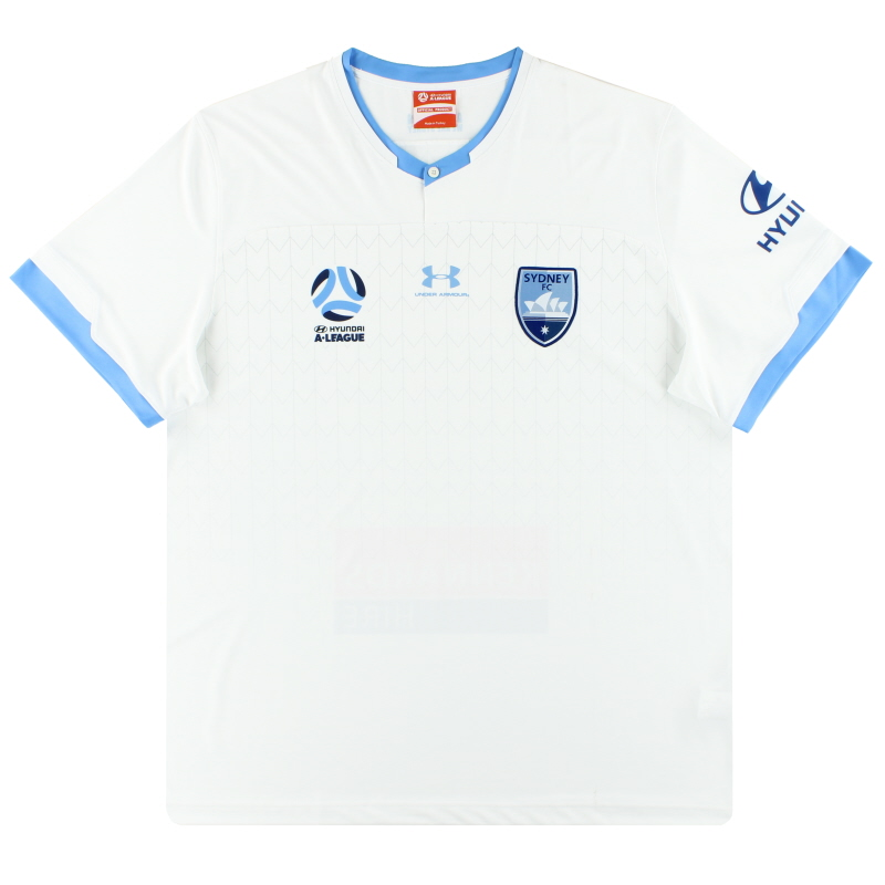 2019-20 Sydney FC Under Armour Away Shirt *As New* S - SYJR103