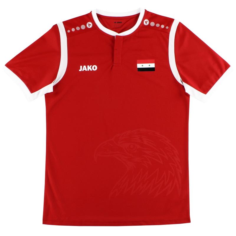 2019-20 Syria Jako Home Shirt *As New*  - EX4213