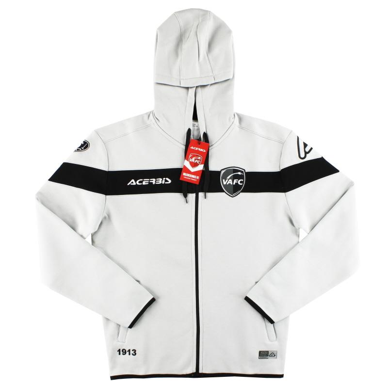 2019-20 Valenciennes Acerbis Light Grey Hoodie *BNIB* - 0910212.076.070