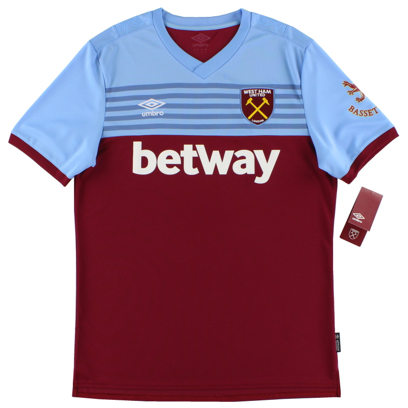 2019-20 West Ham Umbro Home Shirt *BNIB* - 90300U