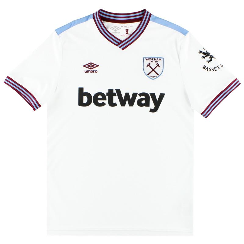 2019-20 West Ham Umbro Away Shirt *As New* L - 90312U