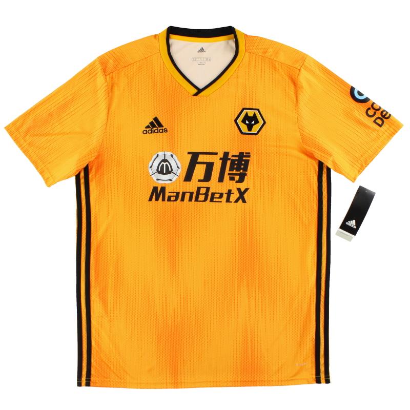 2019-20 Wolves adidas Home Shirt *w/tags* L - EC3605