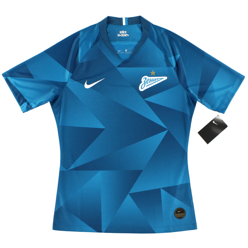 2019-20 Zenit St. Petersburg Vapor Player Issue Home Shirt *w/tags*  - AO5285-405