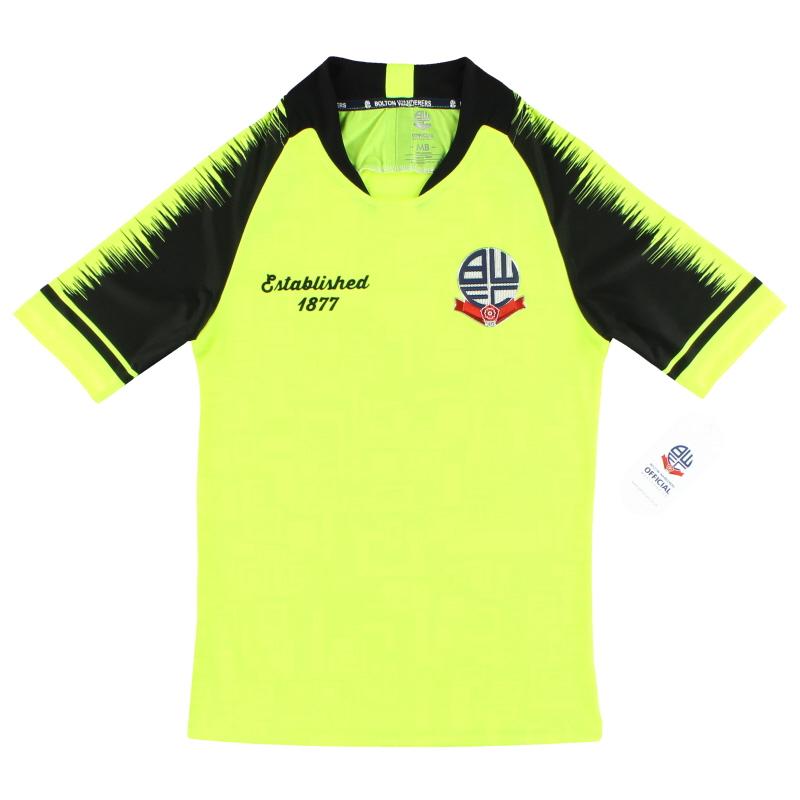 2019 Bolton Established 1877 Away Shirt *BNIB* M.Boys