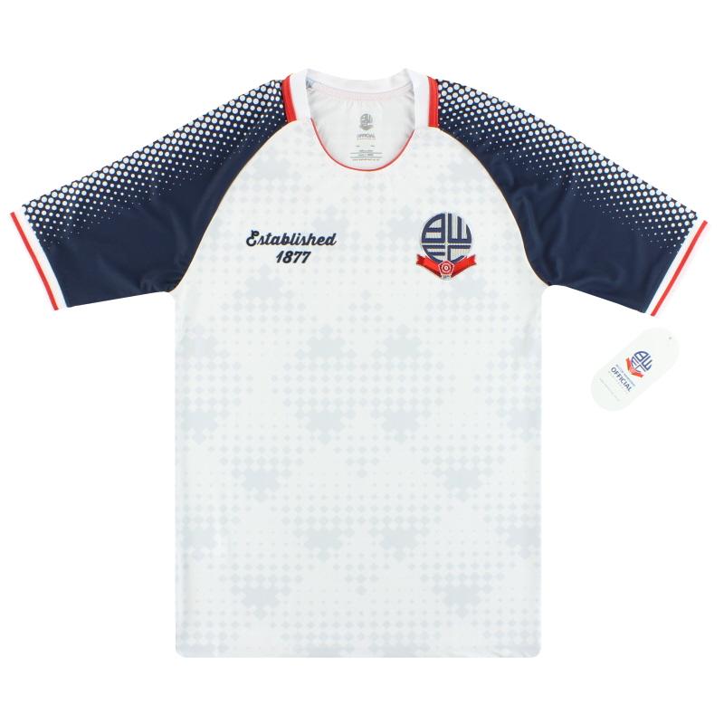 2019 Bolton Established 1877 Home Shirt *BNIB* L.Boys