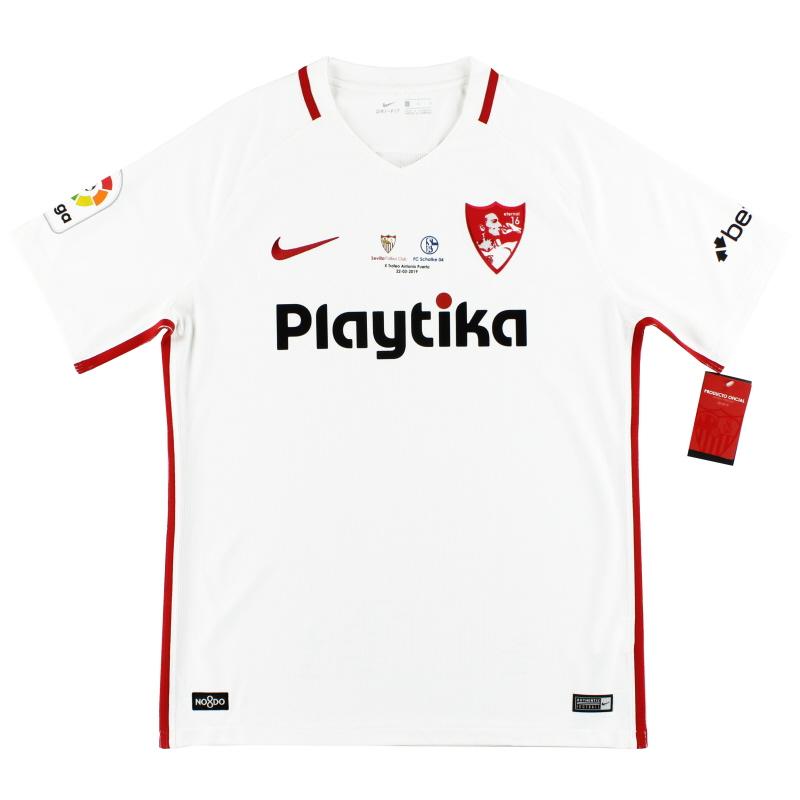 2019 Sevilla Nike 'Antonio Puerta Trophy' Home Shirt *BNIB* - 833017-102