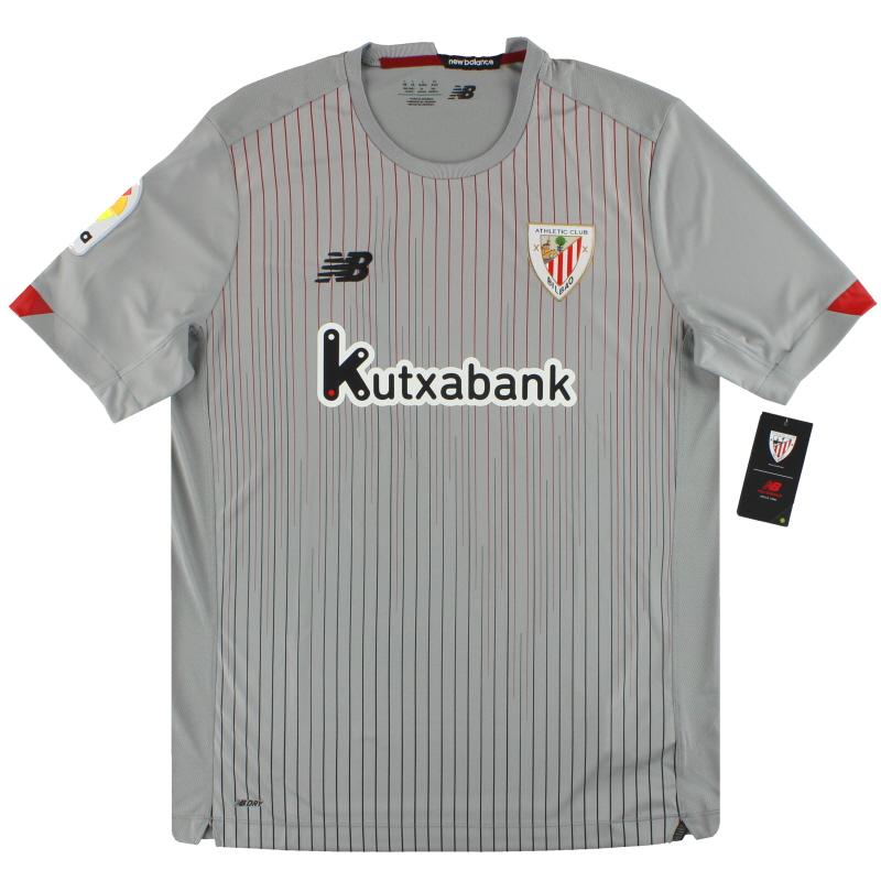 2020-21 Athletic Bilbao New Balance Away Shirt *w/tags* - MT030147AWY