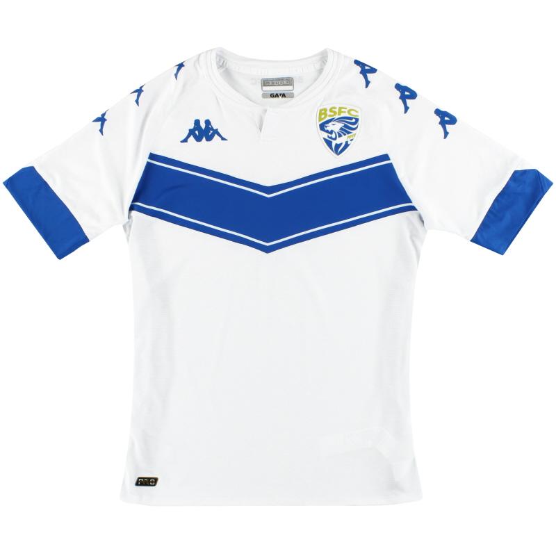 2020-21 Brescia Kappa Kombat Pro Away Shirt *As New* - 3712BBW