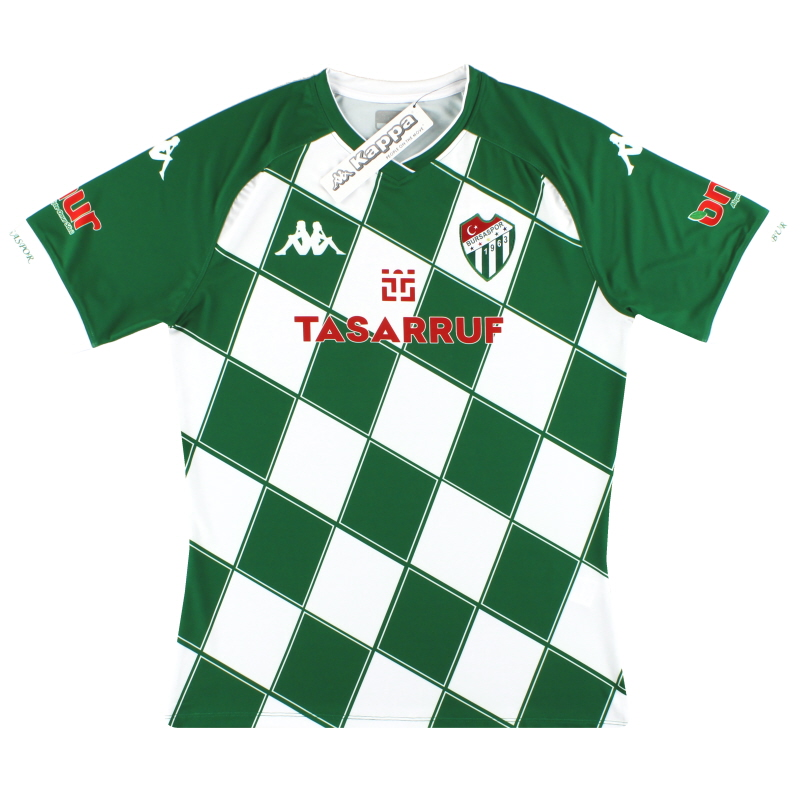 2020-21 Bursaspor Kappa Fourth Shirt *BNIB* - 1-3114WEW0