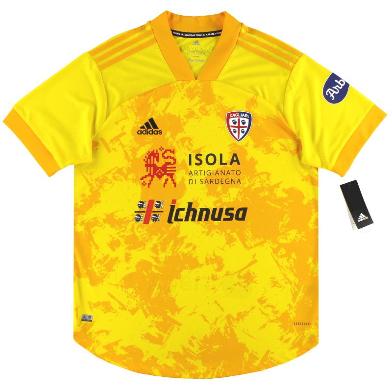 2020-21 Cagliari adidas Centenary Third Shirt *w/tags* - FI5533