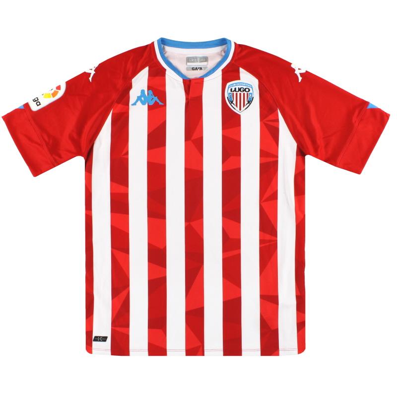 2020-21 CD Lugo Kappa Kombat Pro Home Shirt *As New* S