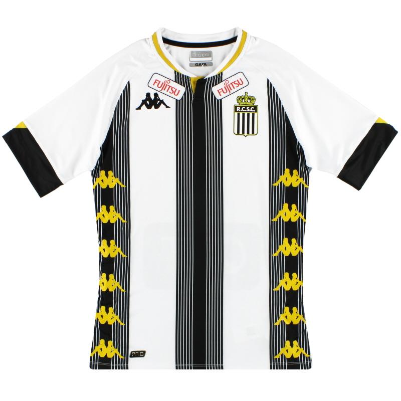 2020-21 Charleroi Kappa Kombat Pro Home Shirt *As New* - 31186DW