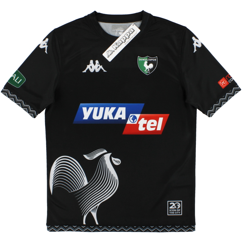 2020-21 Denizlispor Kappa Third Shirt *BNIB* XL - 1-3114DWB