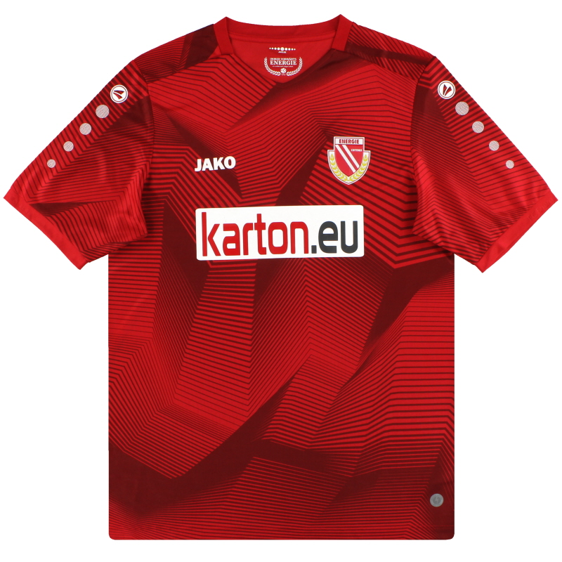 2020-21 Energie Cottbus Jako Home Shirt *As New - CO4220H