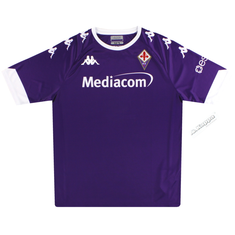 2020-21 Fiorentina Kappa Kombat Extra Home Shirt *BNIB* - 311B1DW