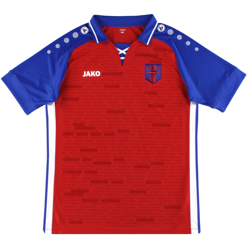 2020-21 FSV Hollenbach Jako '50th Anniversary' Home Shirt *As New* M - D4204