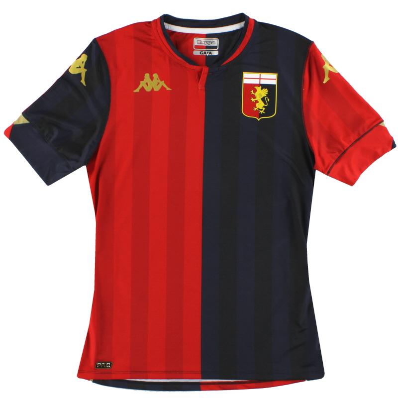 2020-21 Genoa Kappa Kombat Pro Home Shirt *As New* - 35114SW
