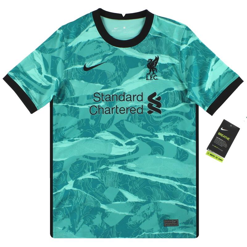 2020-21 Liverpool Nike Away Shirt *w/tags* L.Boys - CZ8646-354