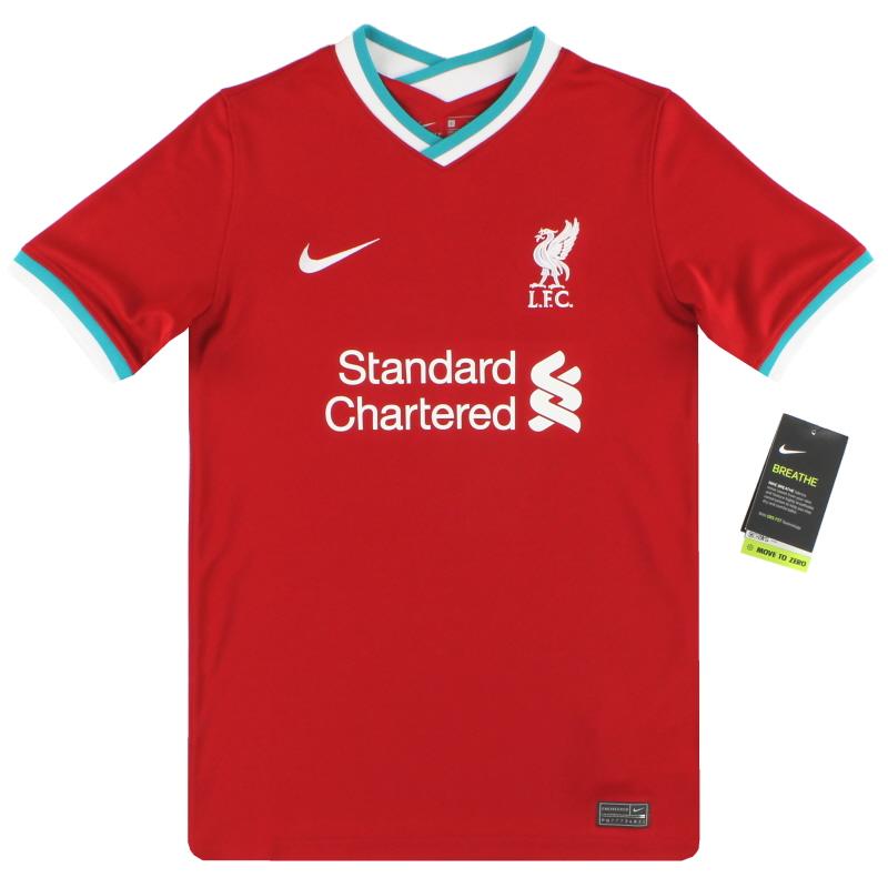 2020-21 Liverpool Nike Home Shirt *BNIB* M.Boys - CZ2636-687