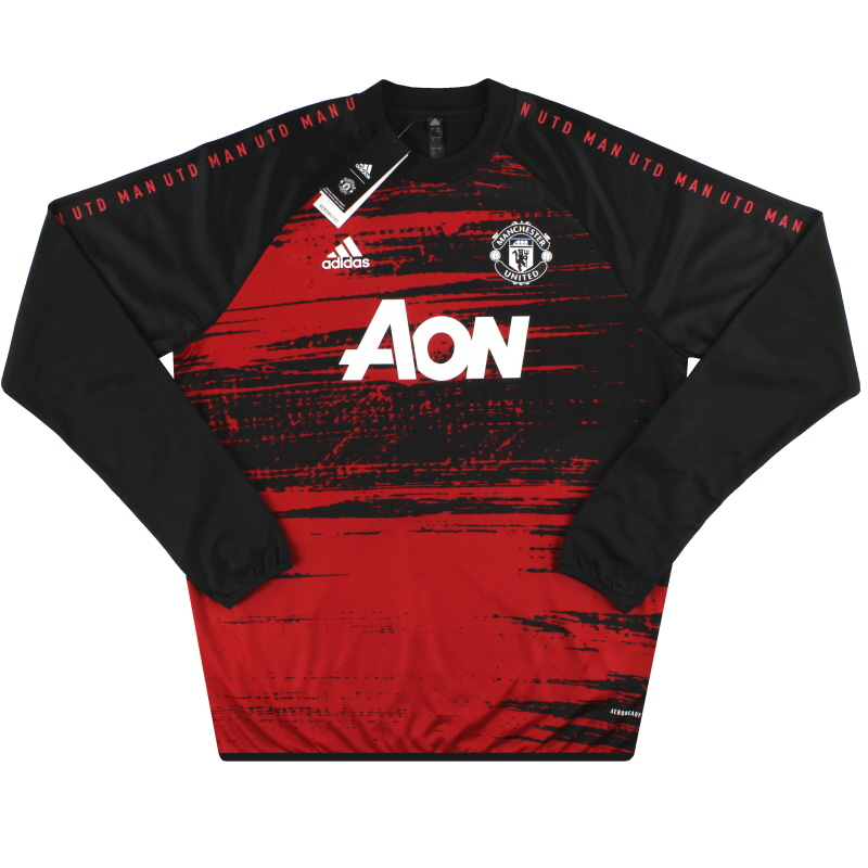2020-21 Manchester United adidas Pre-Match Warm Top *BNIB* XS - FS6006