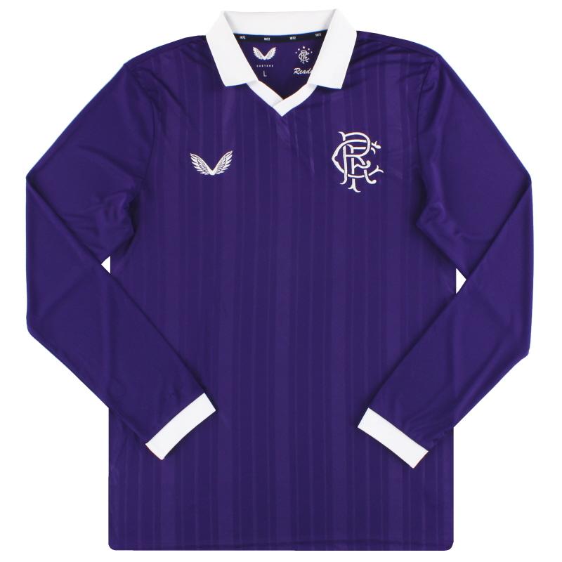 2020-21 Rangers Retro Goalkeeper Shirt *As New*