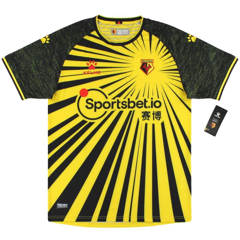 2020-21 Watford Kelme Home Shirt *BNIB* - TK00511003