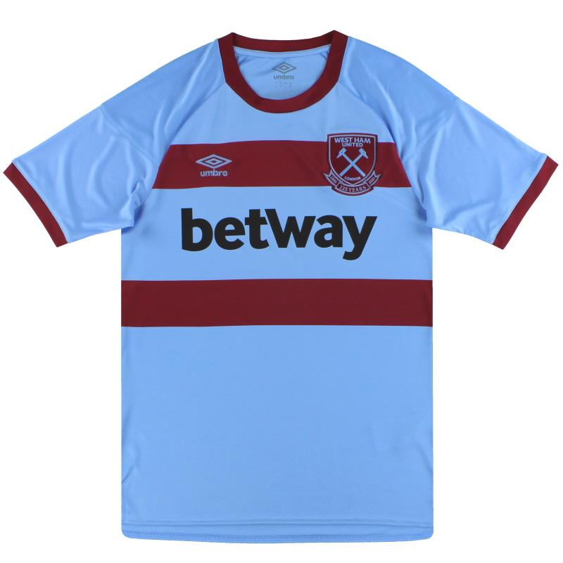 2020-21 West Ham Umbro '125 Years Away Shirt *As New* - 92052U