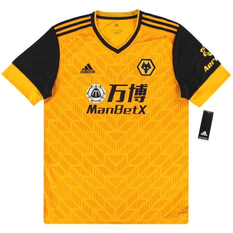 2020-21 Wolves adidas Home Shirt *BNIB* - FJ4503