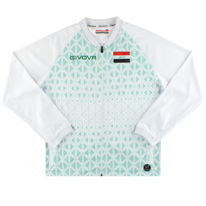 2020 Iraq Givova Track Jacket *BNIB* L