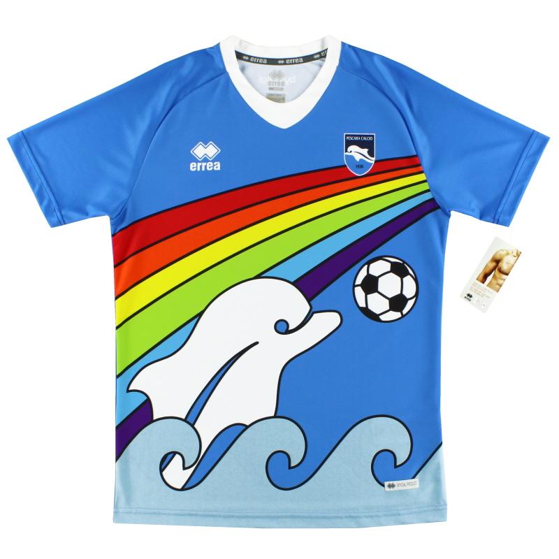 2020 maglietta arcobaleno edizione speciale Pescara * BNIB ...