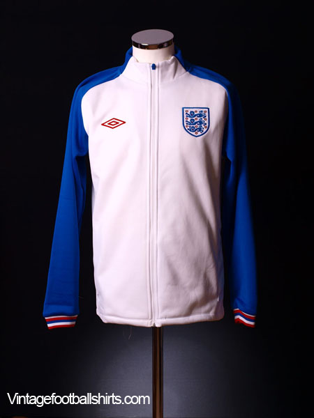 England World Cup 2010 White Knit Jacket *BNWT* XXL