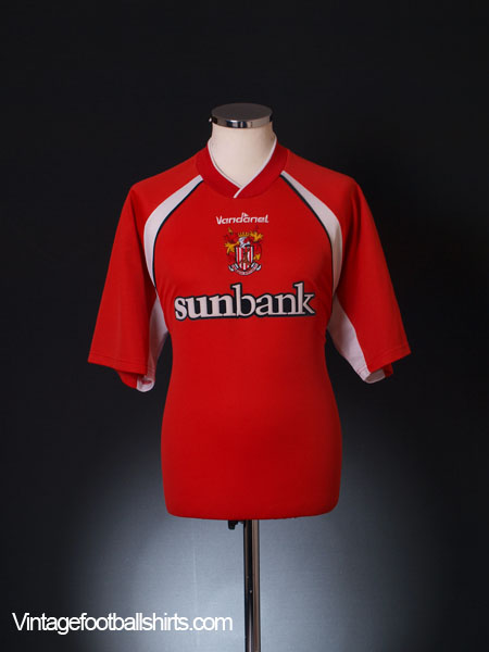 2002-04 Stevenage Borough Home Shirt L