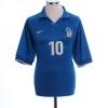 197-98 Italy Home Shirt Del Piero #10 L