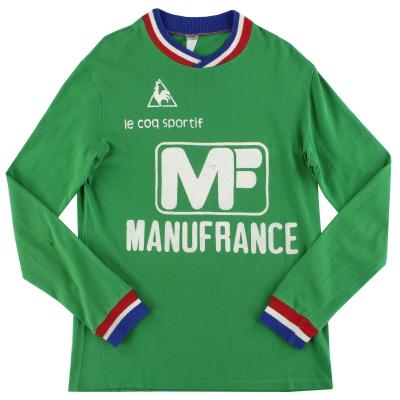 1975-76 Saint Etienne Le Coq Sportif Home Shirt L/S S