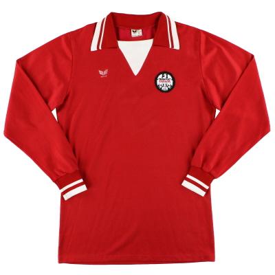 1978-79 Eintracht Frankfurt Erima Home Shirt L/S #9 L