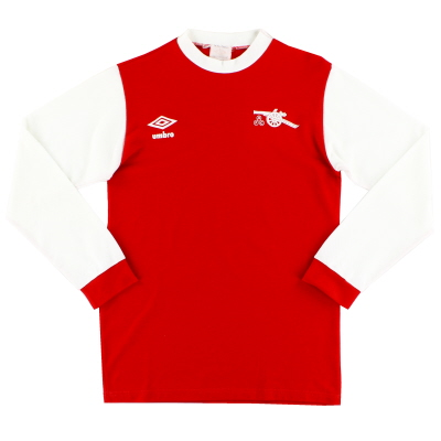 1978-81 Arsenal Home Shirt L/S S
