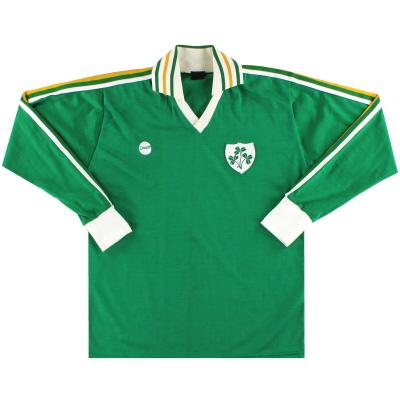 1978-83 Ireland O'Neils Home Shirt L/S L