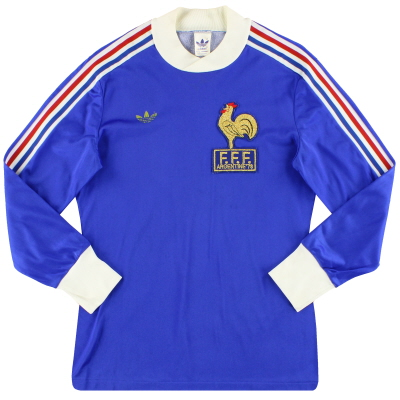 1978 France adidas 'Argentine '78' Home Shirt L/S S