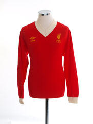 1979-82 Liverpool Home Shirt L/S *Mint* M