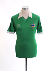1980-82 Northern Ireland Match Issue Home Shirt #13 M