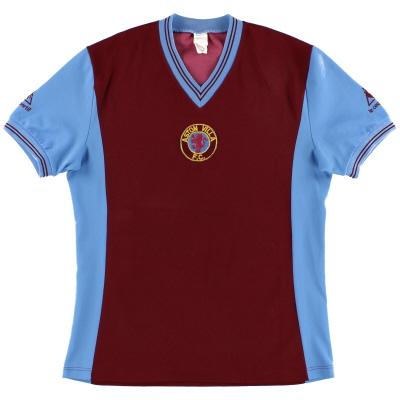 1981-82 Aston Villa Le Coq Sportif Home Shirt M