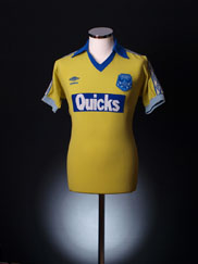 1981-82 Chester City Match Worn Away Shirt S