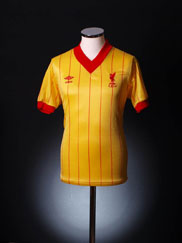1981-84 Liverpool Away Shirt Y